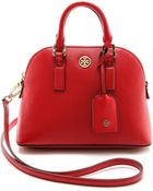 Tory Burch Robinson Mini Dome Satchel - Jelly Blue - Lyst