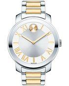 Movado Bold Ladies Two-Tone Quartz Bracelet Watch - Lyst