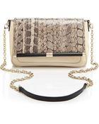 Diane von Furstenberg Shoulder Bag - 440 Martini Snakeskin - Lyst