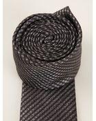 Lanvin Striped Tie - Lyst