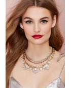 Nasty Gal Hailey Layered Necklace - Lyst