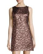 Alice + Olivia Dot Metallic Dress - Lyst