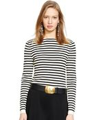 Polo Ralph Lauren Striped Sweater - Lyst
