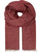 Destin Cashmere Blanket Scarf - Lyst