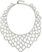 Kenneth Jay Lane Gunmetal-Plated Crystal Necklace - Lyst