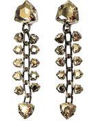Lanvin Laura Crystal Drop Earrings - Lyst