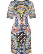Temperley London Merida Quilted Sateen Dress - Lyst
