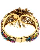 Erickson Beamon Telepathic Crystal & Gold-Plated Cuff - Lyst