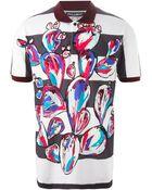 Dolce & Gabbana Sicilian Mambo-Print Polo Shirt - Lyst