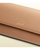 Gucci Swing Leather Continental Wallet - Lyst