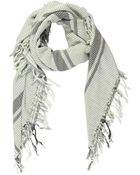 Maison Scotch Scarf - Lyst