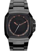 Nixon Deck Matt Black / Industrial Green Watch - Lyst