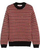 Cedric Charlier Chunky-Knit Cotton-Blend Sweater - Lyst