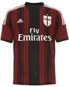 Adidas Ac Milan Home Replica Player Jersey - Lyst
