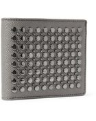 Burberry Studded Leather Billfold Wallet - Lyst