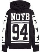 H&M Hooded Top With A Print - Lyst