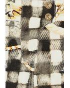 Balmain Printed Lowrise Skinny Jeans - Lyst