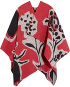 Burberry Prorsum Wool And Cashmere-Blend Wrap - Lyst