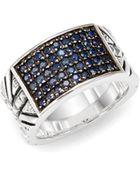Stephen Webster Alchemy Sapphire  Sterling Silver Ring - Lyst
