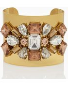 Kate Spade Crystal Arches Statement Cuff - Lyst