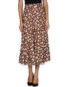 Michael Kors 3/4 Length Skirt - Lyst