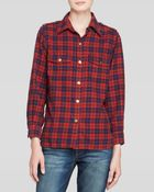 Current/Elliott Shirt - The Perfect Plaid - Lyst