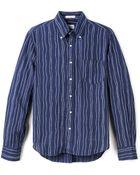 Gant Rugger Indigo Oxford Rope Shirt - Lyst