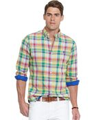 Polo Ralph Lauren Double-Faced Poplin Shirt - Lyst