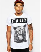 Friend Or Faux Grizzly Tshirt - Lyst