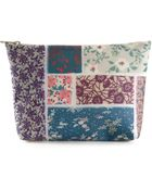 Luisa Cevese Riedizioni Floral Print Make Up Bag - Lyst