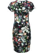 McQ by Alexander McQueen Festival Floral Print Dress - Lyst