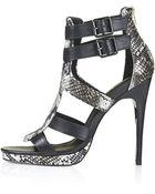 Topshop Rara High Sandals - Lyst