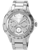 Vince Camuto Women'S Stainless Steel Bracelet 41Mm Vc-5007Svsv - Lyst