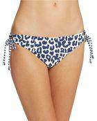 Splendid Side Tie Bikini Bottoms - Lyst