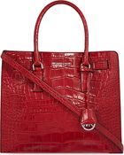 MICHAEL Michael Kors Dillon Large Croc-embossed Leather Tote - Lyst