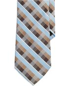 Perry Ellis Checkered Tie - Lyst