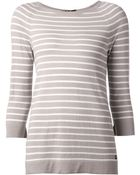 Loro Piana Striped Sweater - Lyst
