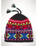 Ralph Lauren Fair Isle Wool Hat - Lyst