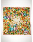 Ralph Lauren Silk Floral Scarf - Lyst