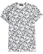 Jil Sander Printed Cotton T-Shirt - Lyst