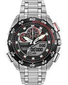 Citizen Men'S Analog-Digital Chronograph Eco-Drive Promaster Super Sport Stainless Steel Bracelet Watch 44Mm Jw0111-55E - Lyst