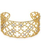 Alexis Bittar Elements Riveted Lace Cuff - Lyst