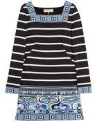 Emilio Pucci Printed Silk Jersey Dress - Lyst
