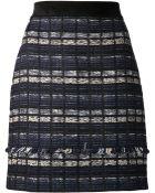 Proenza Schouler Tweed Suiting Mini Skirt - Lyst