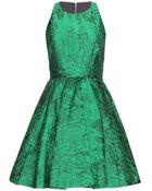 Alice + Olivia Tevin Jacquard Dress - Lyst