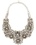 Valentino Crystal-Embellished Satin Necklace - Lyst
