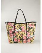 Dolce & Gabbana Escape Floral-Print Tote - Lyst