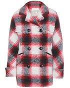 Etoile Isabel Marant Gael Wool-Blend Coat - Lyst