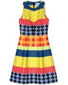 Novis Walter Jacquard Pleated Dress - Lyst