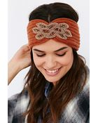Urban Outfitters Embellished Ear Warmer - Lyst